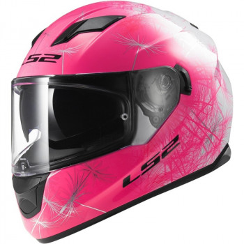 Мотошлем LS2 FF320 Stream Wind Fluo Pink XS