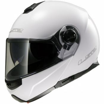 Мотошлем LS2 FF325 Strobe Gloss-White XS