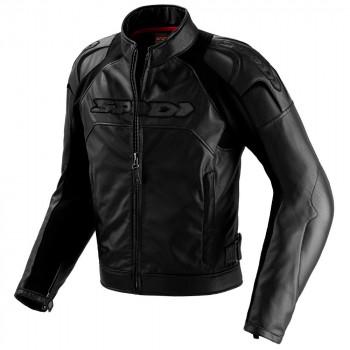 Мотокуртка кожаная Spidi Darknight Jacket Black 52