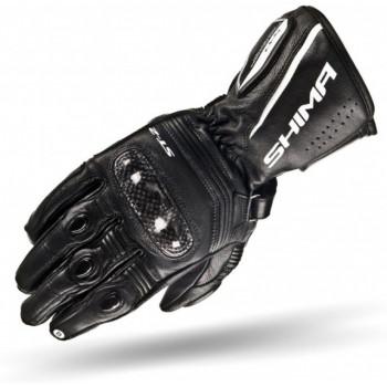 Мотоперчатки женские Shima ST-2 Black M