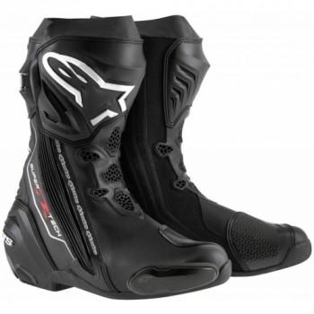 Мотоботы Alpinestars Supertech R Black 42