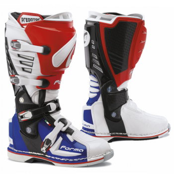 Мотоботы Forma Predator White-Red-Blue 42
