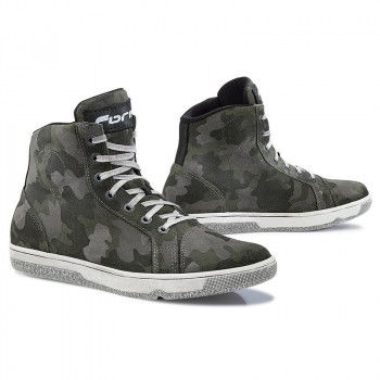 Мотоботы Forma Slam Dry Black-White-Camo 43