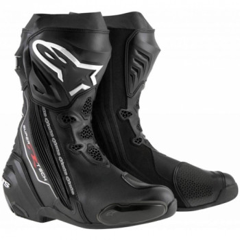 Мотоботы Alpinestars Supertech R Black 45 (2015)
