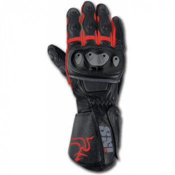 Мотоперчатки IXS SKYWAVE Black-red S