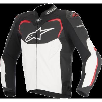 Мотокуртка кожаная Alpinestars Gp Pro Black-White-Red 48 (2016)