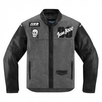 Мотокуртка Icon Vigilante Stickup Black-Grey XL