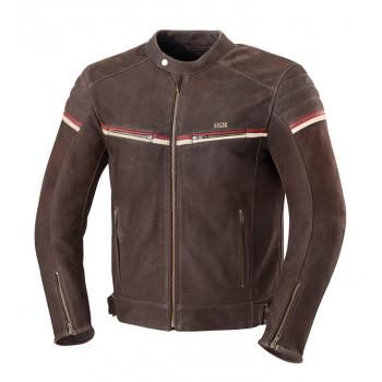 Мотокуртка кожаная IXS Flagstaff Brown 56
