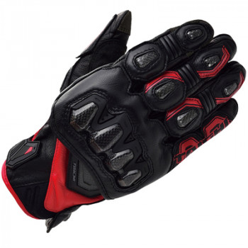 Мотоперчатки кожаные RS-Taichi High Protection Black-Red M