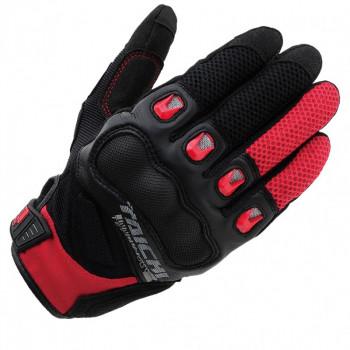 Мотоперчатки RS-Taichi Surge Mesh Black-Red L