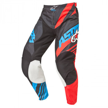 Мотоштаны Alpinestars Racer Supermatic Black-Red-Blue 2XL (2015)