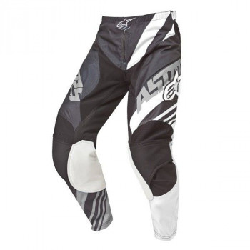 Мотоштаны Alpinestars Racer Supermatic Black-White-Grey S (2015)