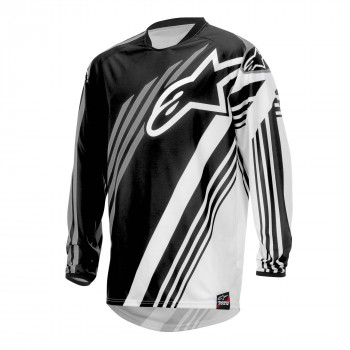 Джерси Alpinestars Racer Supermatic Black-Grey XL (2015)