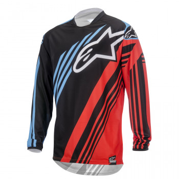 Джерси Alpinestars Racer Supermatic Black-Red-Blue XL (2015)