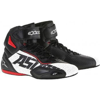 Мотоботы Alpinestars Faster-2 Vented Black-White-Red 39 (2016)