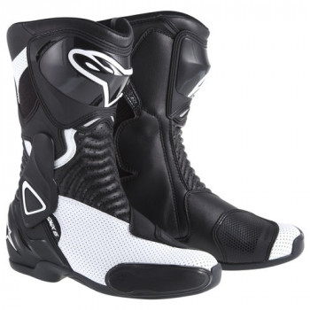 Мотоботы женские Alpinestars Stella S-MX 6 Vented Black-White 38