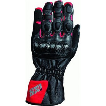 Мотоперчатки IXS NOVARA Black-red S