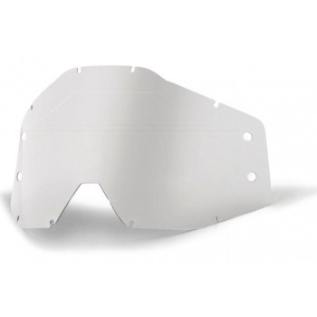 Сменная линза грязевая Ride 100% Forecast Replacement Lens - Clear