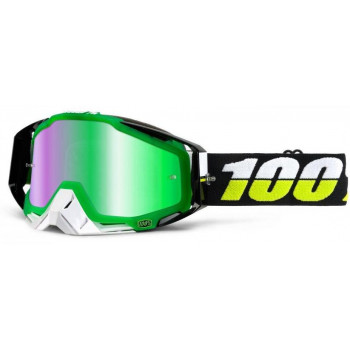 Мотоочки 100% Racecraft Goggle Simbad - Mirror Green Lens