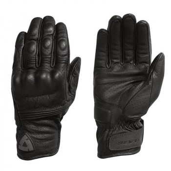 фото 2 Мотоперчатки Мотоперчатки кожаные Revit Fly 2 Black S