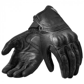 фото 3 Мотоперчатки Мотоперчатки кожаные Revit Fly 2 Black S