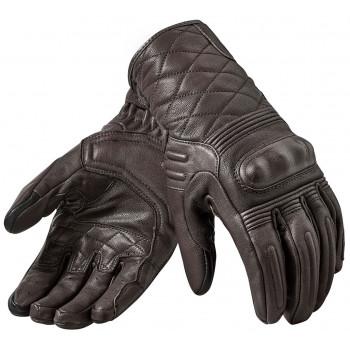 Мотоперчатки кожаные Revit Monster 2 Dark Brown XL