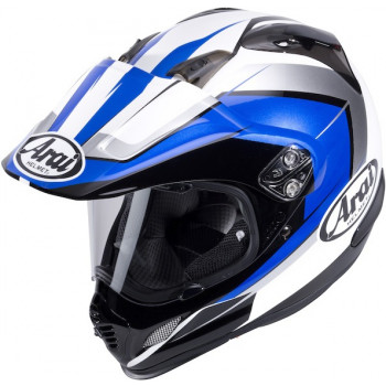 Мотошлем Arai Tour-X4 Flare Black-White-Blue XL