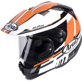 Мотошлем Arai Tour-X4 Shire Black-White-Orange XL