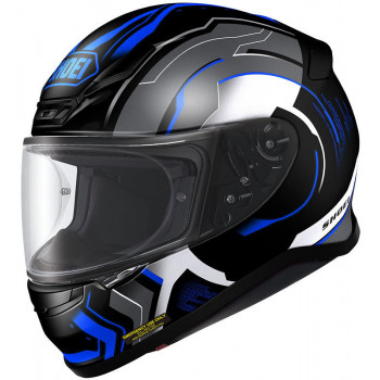 Мотошлем Shoei NXR Isomorph TC-2 Black-Blue-Grey L