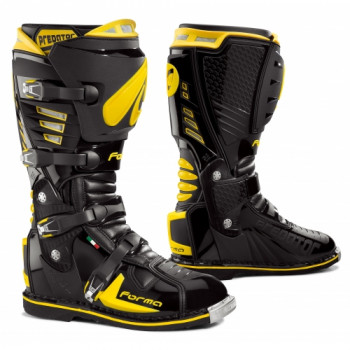 Мотоботы Forma Predator Black-Yellow Fluo 45