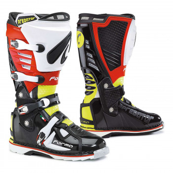 Мотоботы Forma Predator Black-Yellow Fluo-Red 43