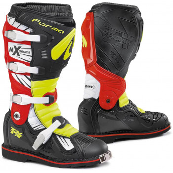 Мотоботы Forma Terrain TX Black-Yellow-Red 40