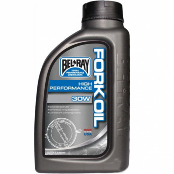 Масло Bel Ray High Perf Fork Oil 30W 1л