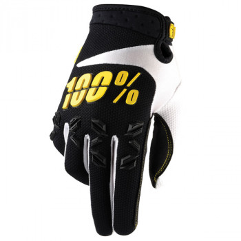 Мотоперчатки Ride 100% Airmatic Black S (8)