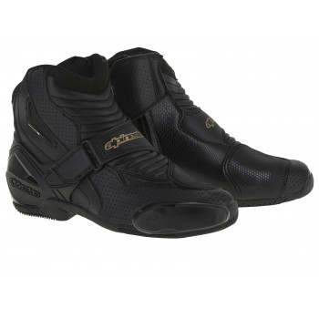 Мотоботы женские Alpinestars Stella S-MX 1 R Black-Gold 39 (2016)