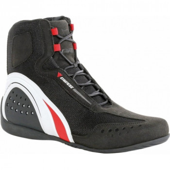Мотоботы Dainese Motorshoe Air Black-White-Red 41