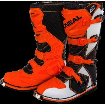 Мотоботы O'Neal Rider Orange 42