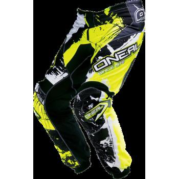 Мотоштаны Oneal Element Shocker Black-Yellow 52