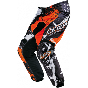 Мотоштаны Oneal Element Shocker Black-Orange 52