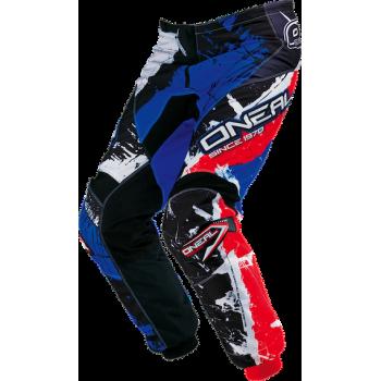 Мотоштаны Oneal Element Shocker Black-Blue-Red 54