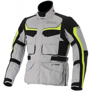 Мотокуртка Alpinestars Calama Drystar White-Grey-Yellow 3XL
