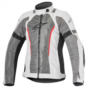 Мотокуртка женская Alpinestars Stella Amok Air DS Grey-White M (2016)