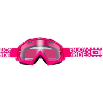 Мотоочки Oneal B-Flex Launch Pink