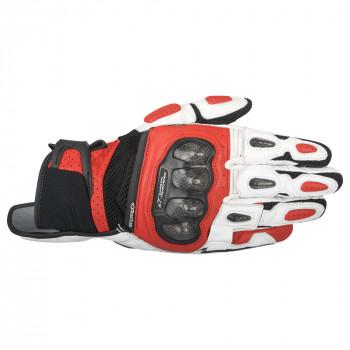 Мотоперчатки кожаные Alpinestars SP-X Air Carbon White-Red-Black L (2016)