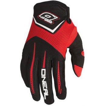 Мотоперчатки детские Oneal Element Red L