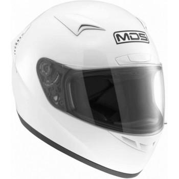 Мотошлем MDS M13 White M