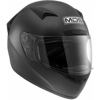 Мотошлем MDS M13 Matt Black L
