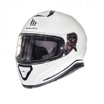 фото 1 Мотошлемы Мотошлем MT Thunder 3 SV Pearl-White L