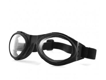 bobster Мотоочки Bobster Bugeye Black Clear Lens