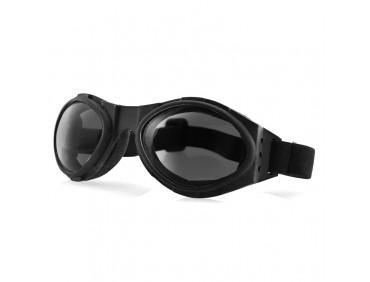 bobster Мотоочки Bobster Bugeye Black Smoked Lens